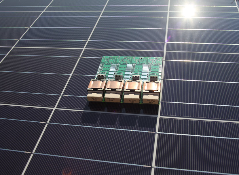 Image: MaxOut Balancer Circuit on Solar Panel